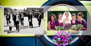 wedding album at aston hall church and hotel yorkshire