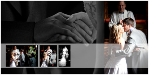 wedding album at clumber park hotel nottinghamshire